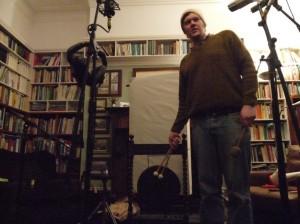 Biff Roxby in the Bedlam studio house